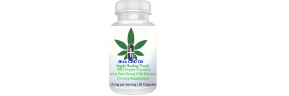 Bliss CBD Isolated Capsules